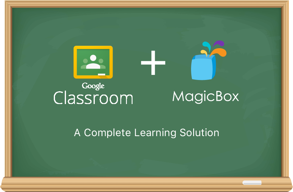 Using Google Classroom with MagicBox<sup>TM</sup>