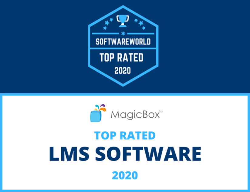 MagicBox™  Recognized as Top LMS by SoftwareWorld.io