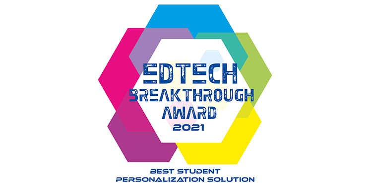 MagicBox - best student personalization solution - edtech breakthrough awards 2021