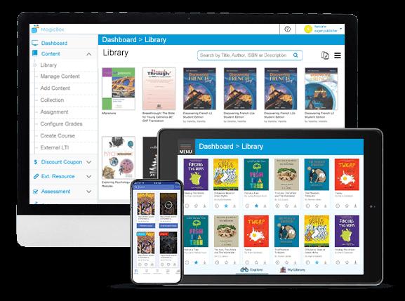 digital learning platform- MagicBox