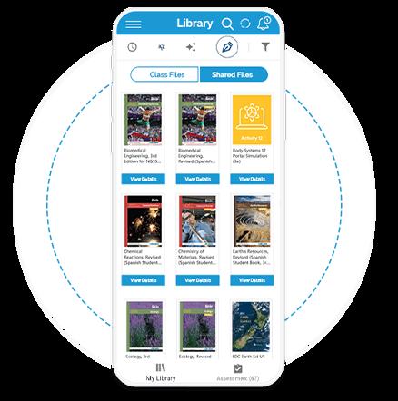 educational publishing services platform