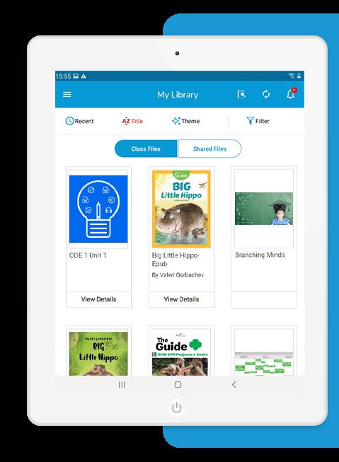 K-12 digital education platform