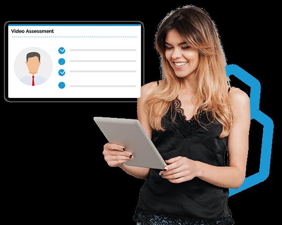 video assessment platform for K12 and higher education